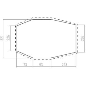 VAUDE Drive Van XT 5P Zeltbodenunterlage Comfort anthracite